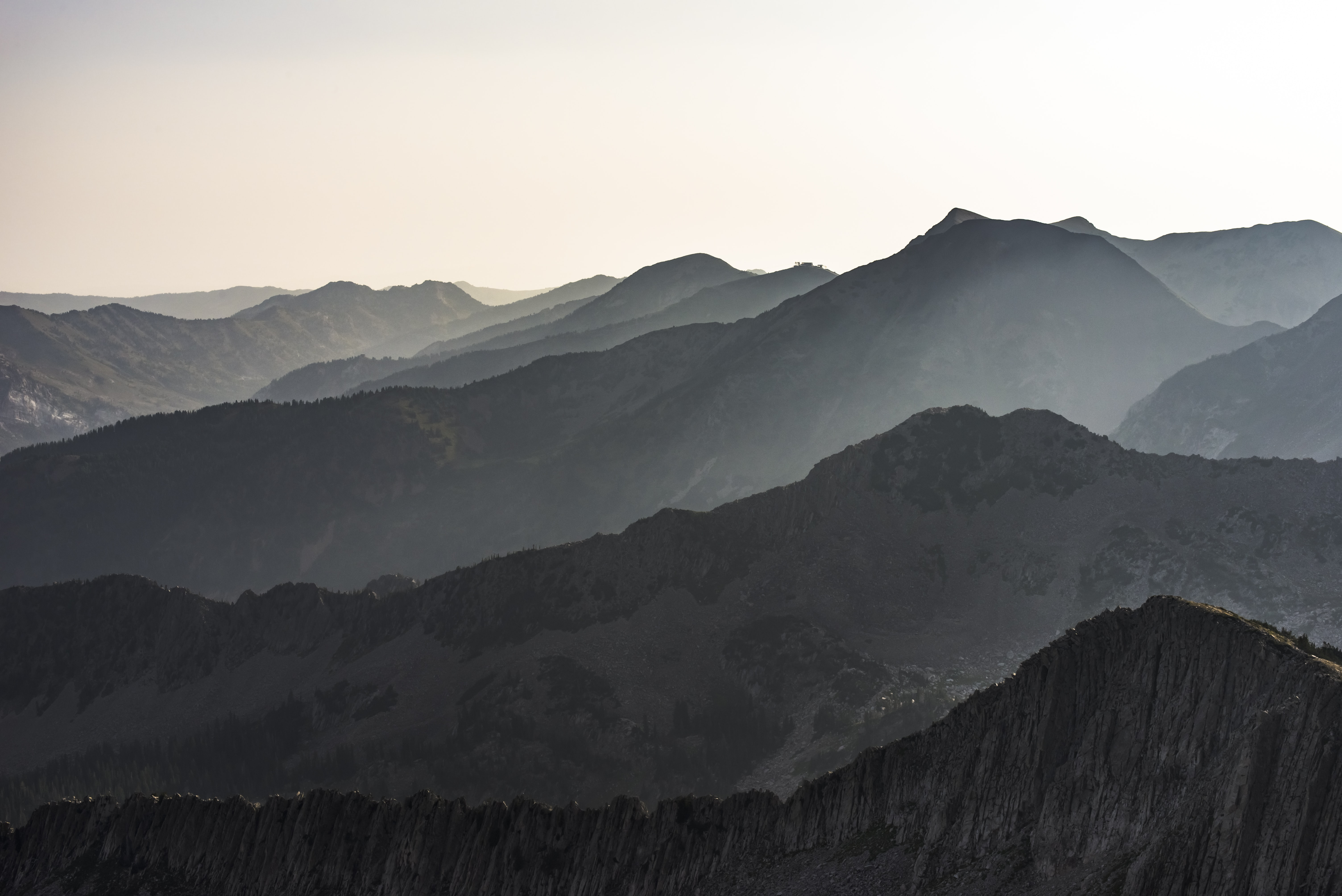 photo of mountains during daytime