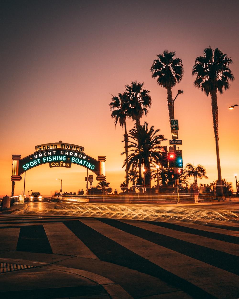 Santa Monica ark in shallow focus photography