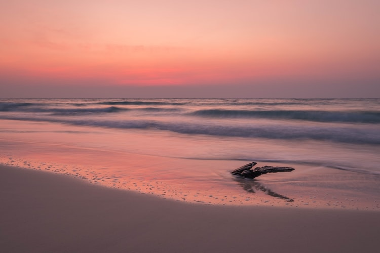 Otres Beach sunset view