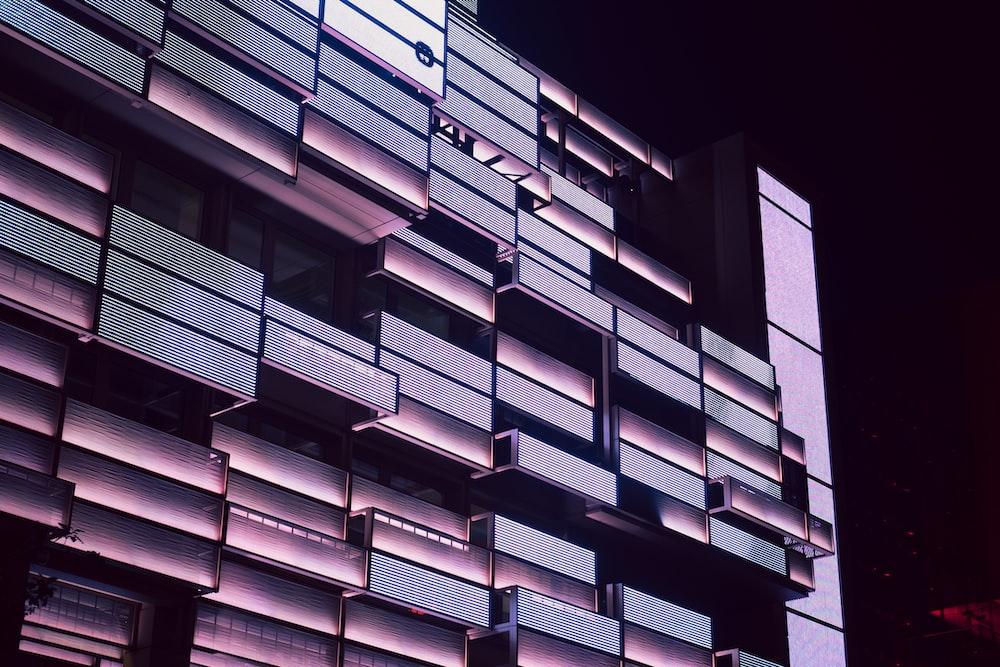 rectangular glass boxes digital wallpaper