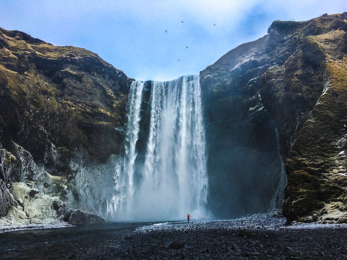 Cachoeira Skógafoss