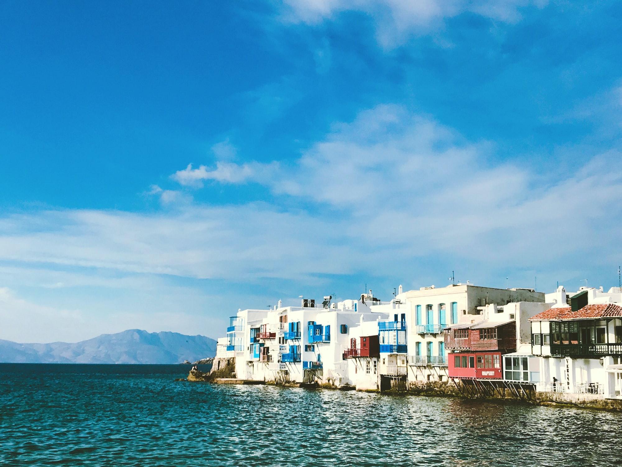 Île de Mykonos en Grèce