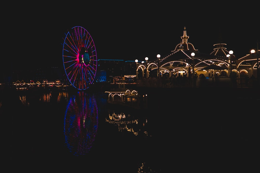 carnival lights during nighttime