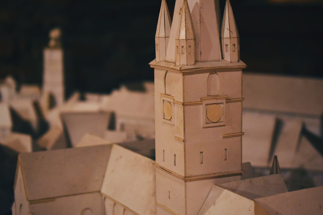 There are other things in life that are smaller then us, including but not limited to, city dioramas!