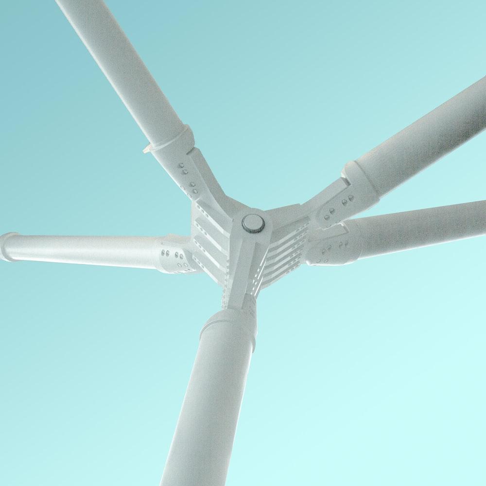 white wind mill
