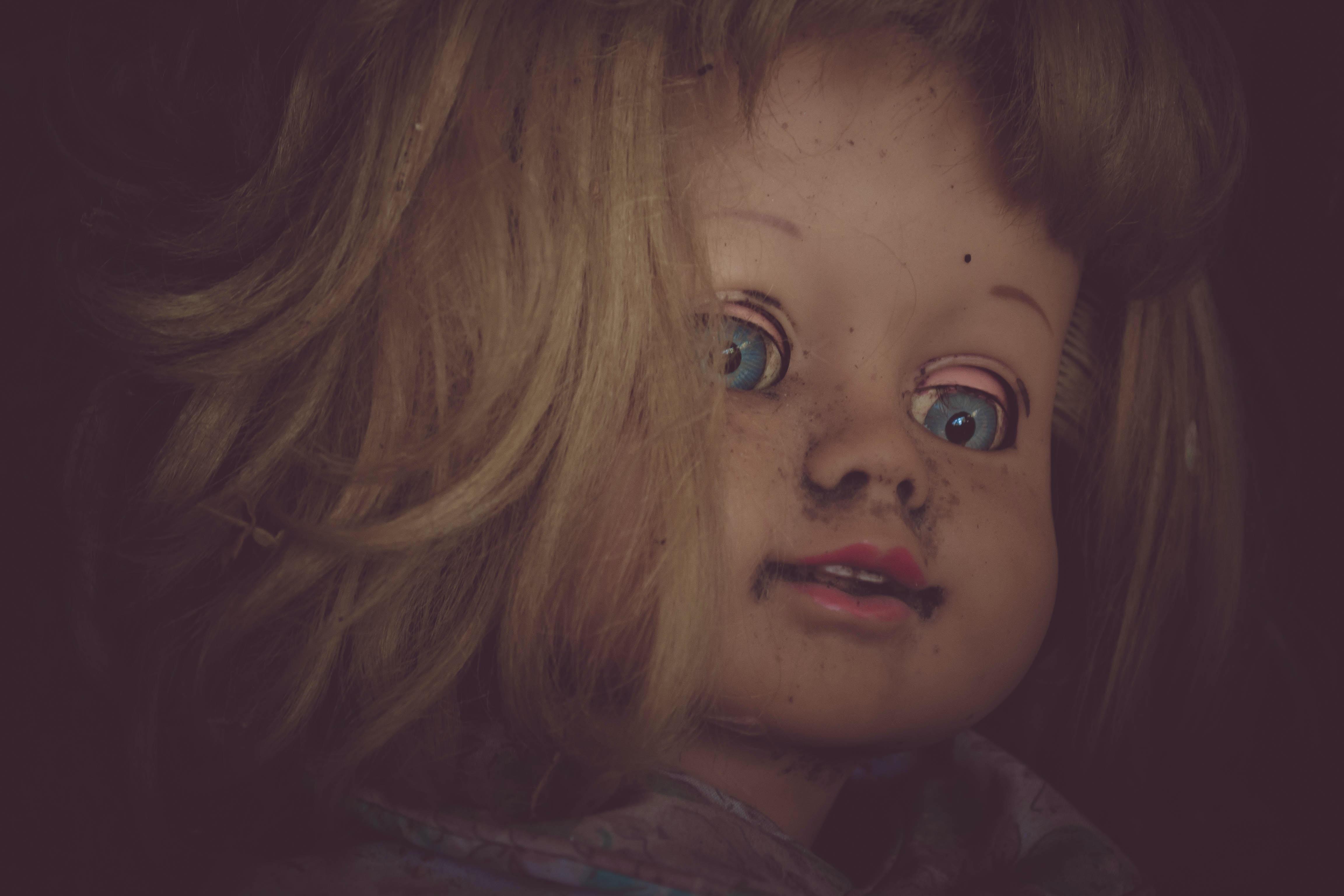 doll closeup photography