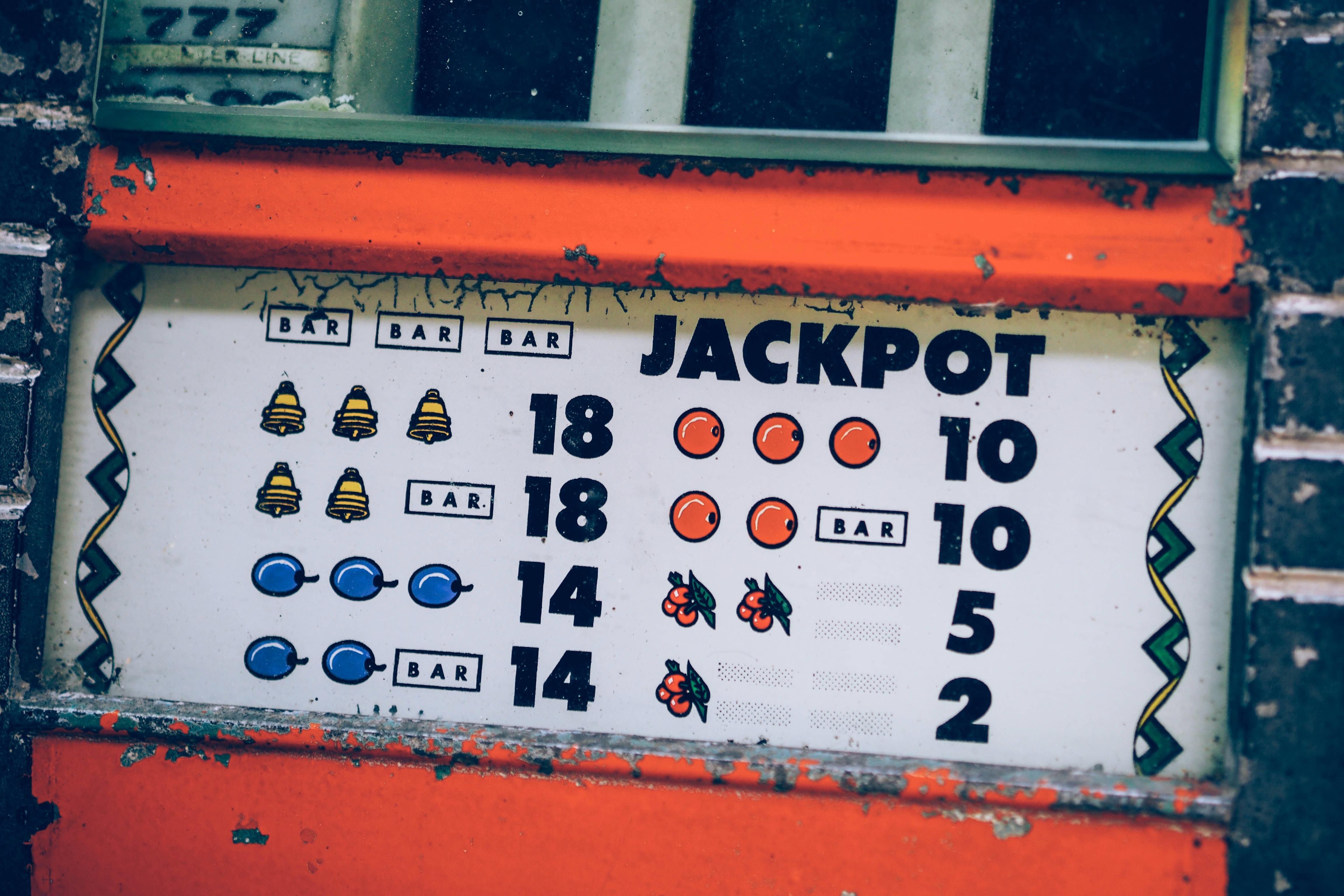 Jackpot board