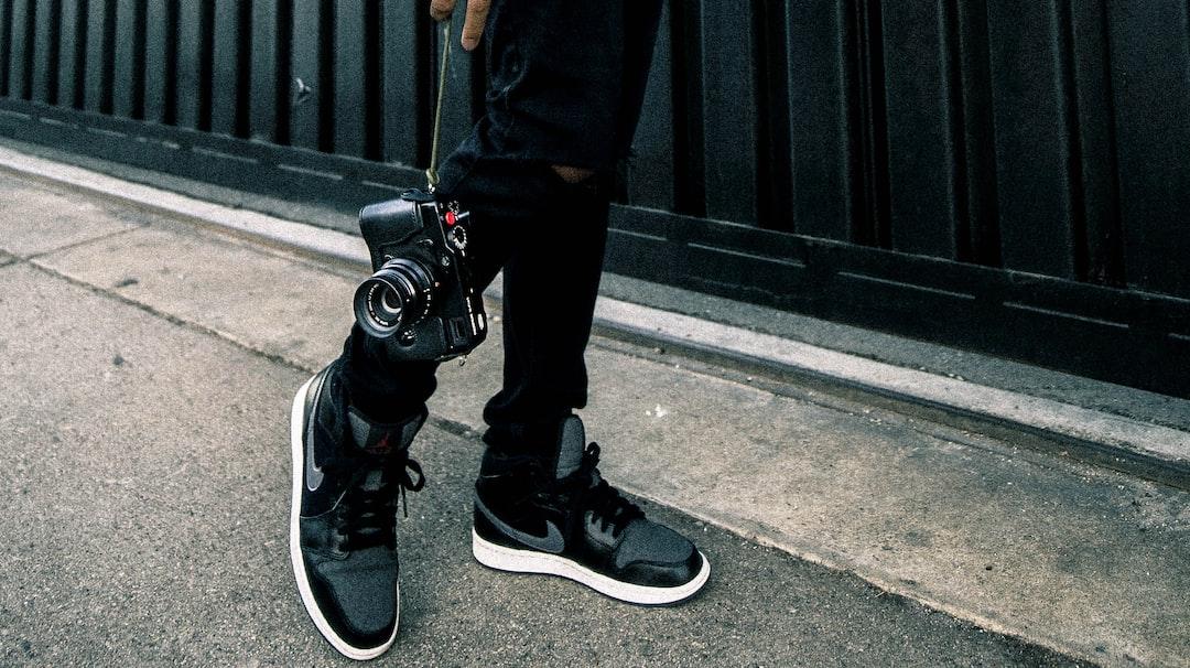Shoes. Street. Camera.