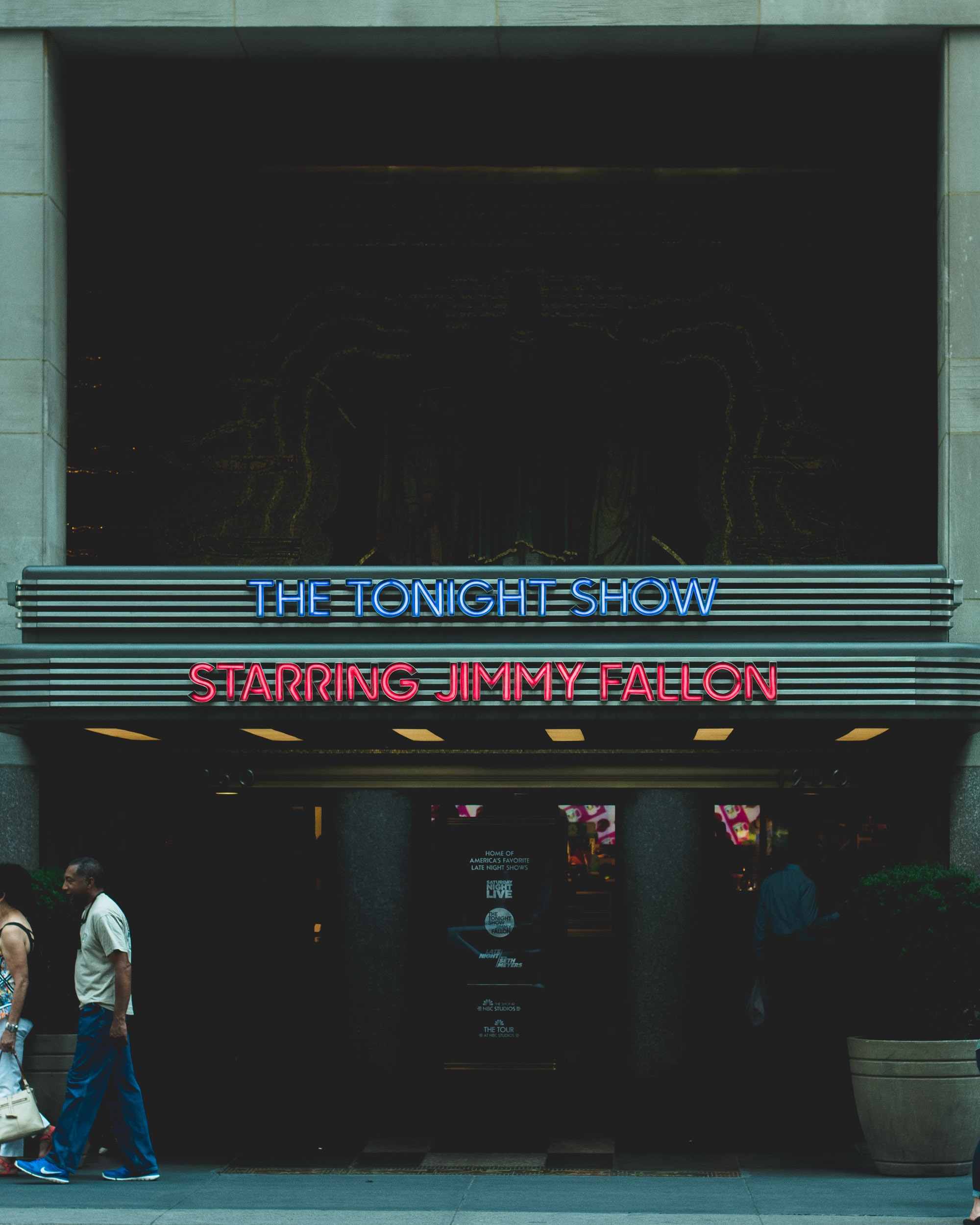 The Tonight Show Starring Jimmy Fallon building