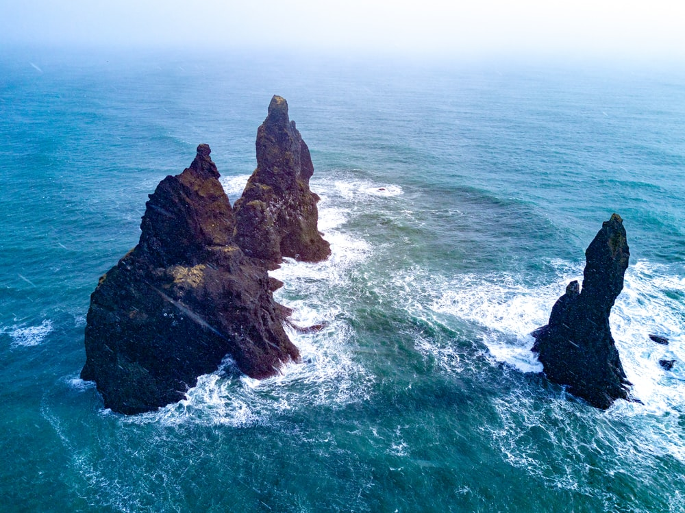 Black Sand Beach Iceland Pictures Download Free Images On Unsplash