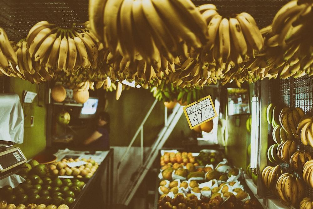 variety fruits
