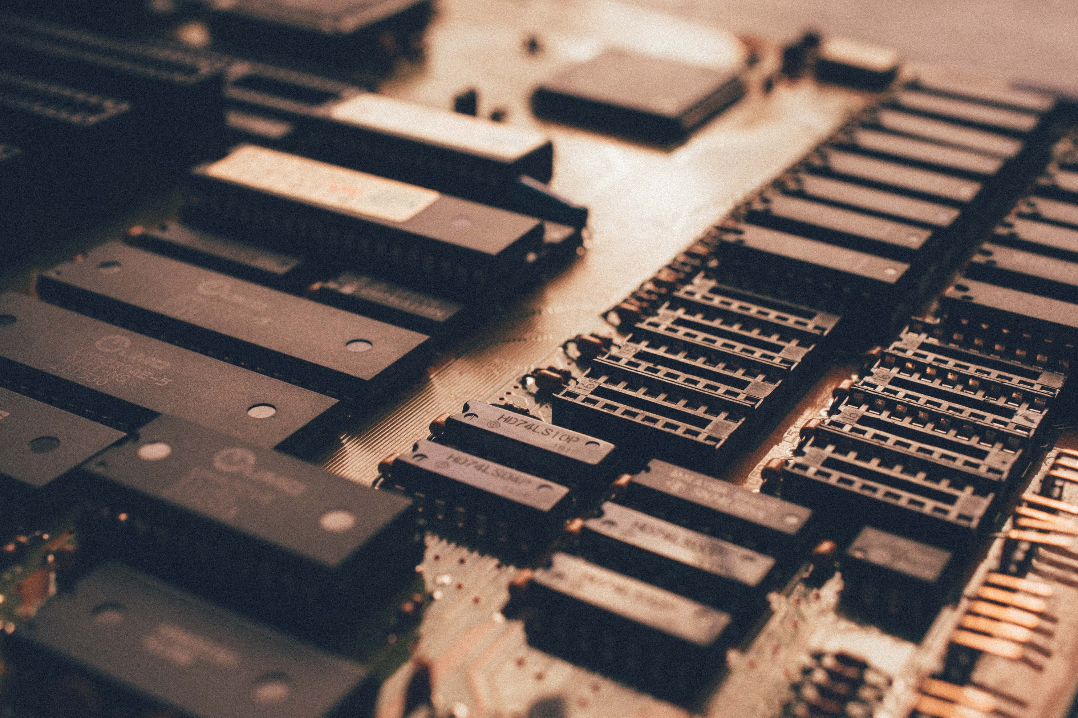 black circuit board