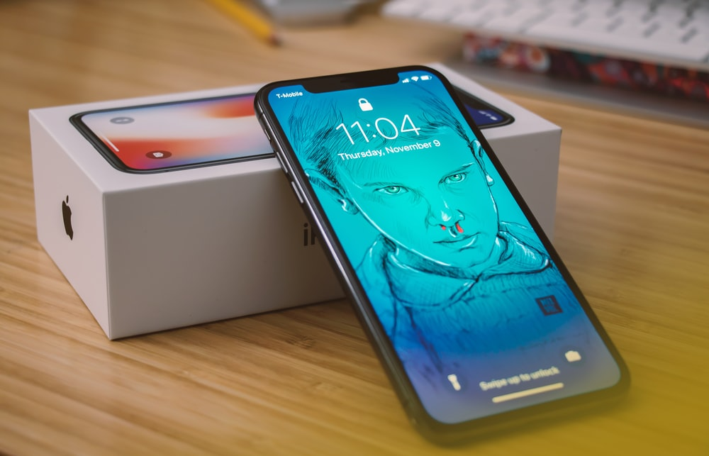 Space Gray Iphone X With Box Photo Free Iphone Image On
