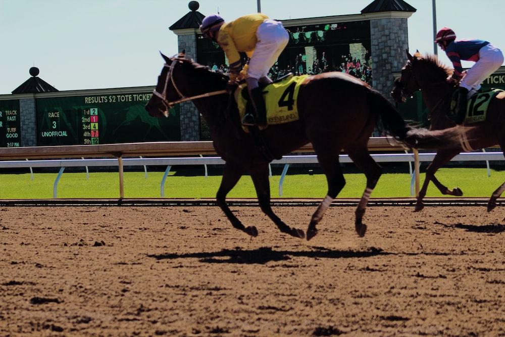 jockey race