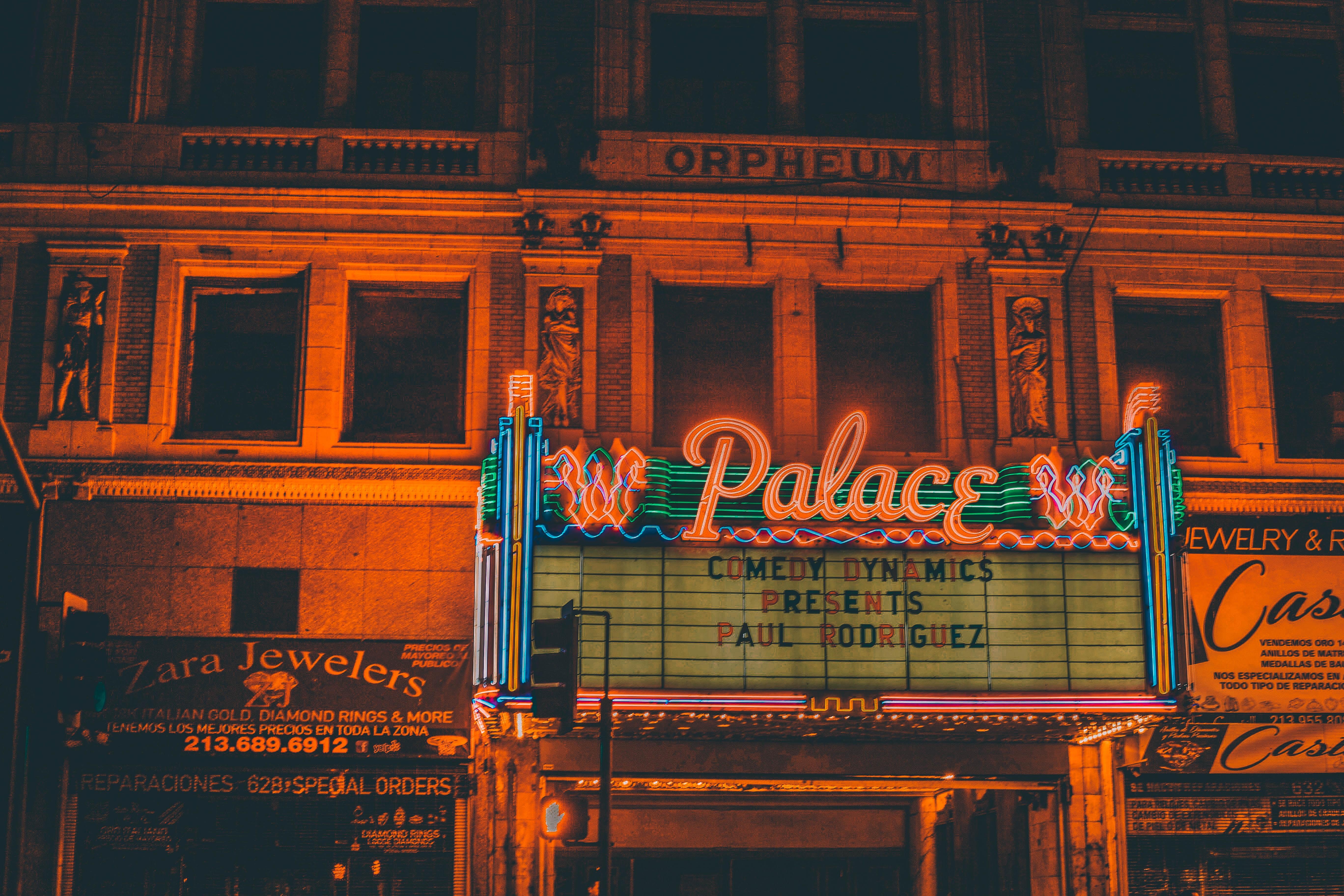 Palace LED signage