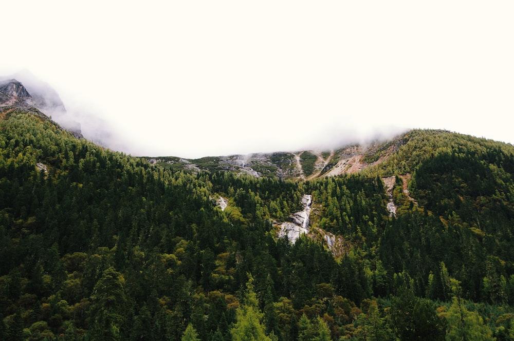 mountain taken at daytime