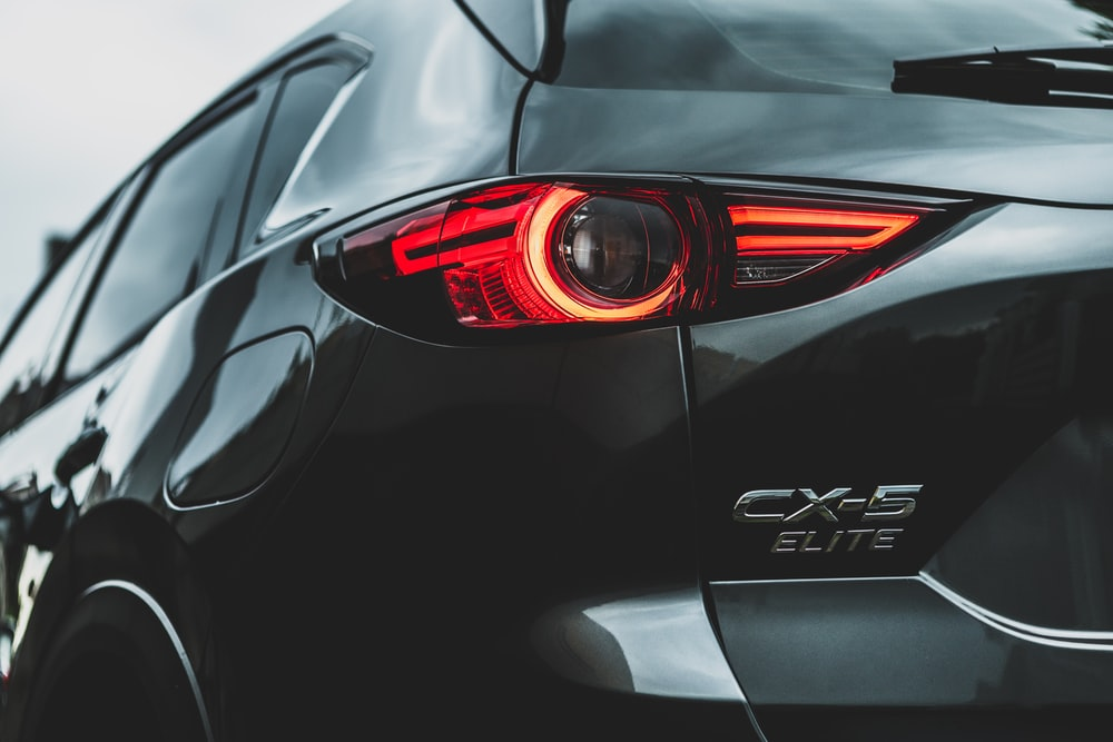 black CX-5 Elite vehicle