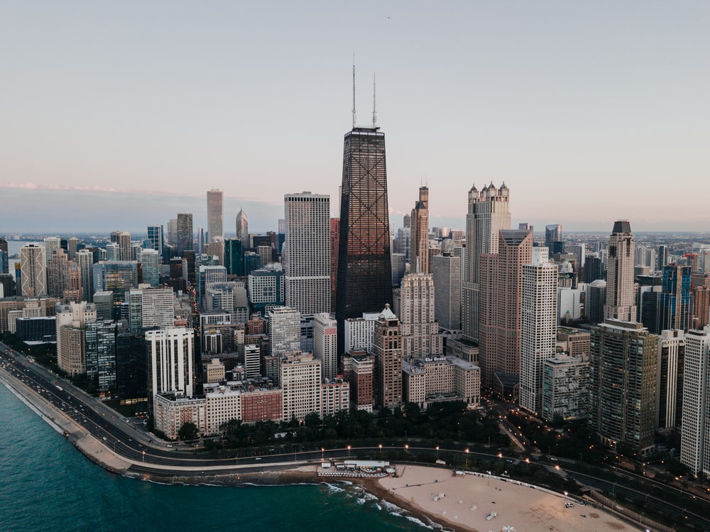 Christmas In Chicago Skyline.Chicago Wallpapers Free Hd Download 500 Hq Unsplash