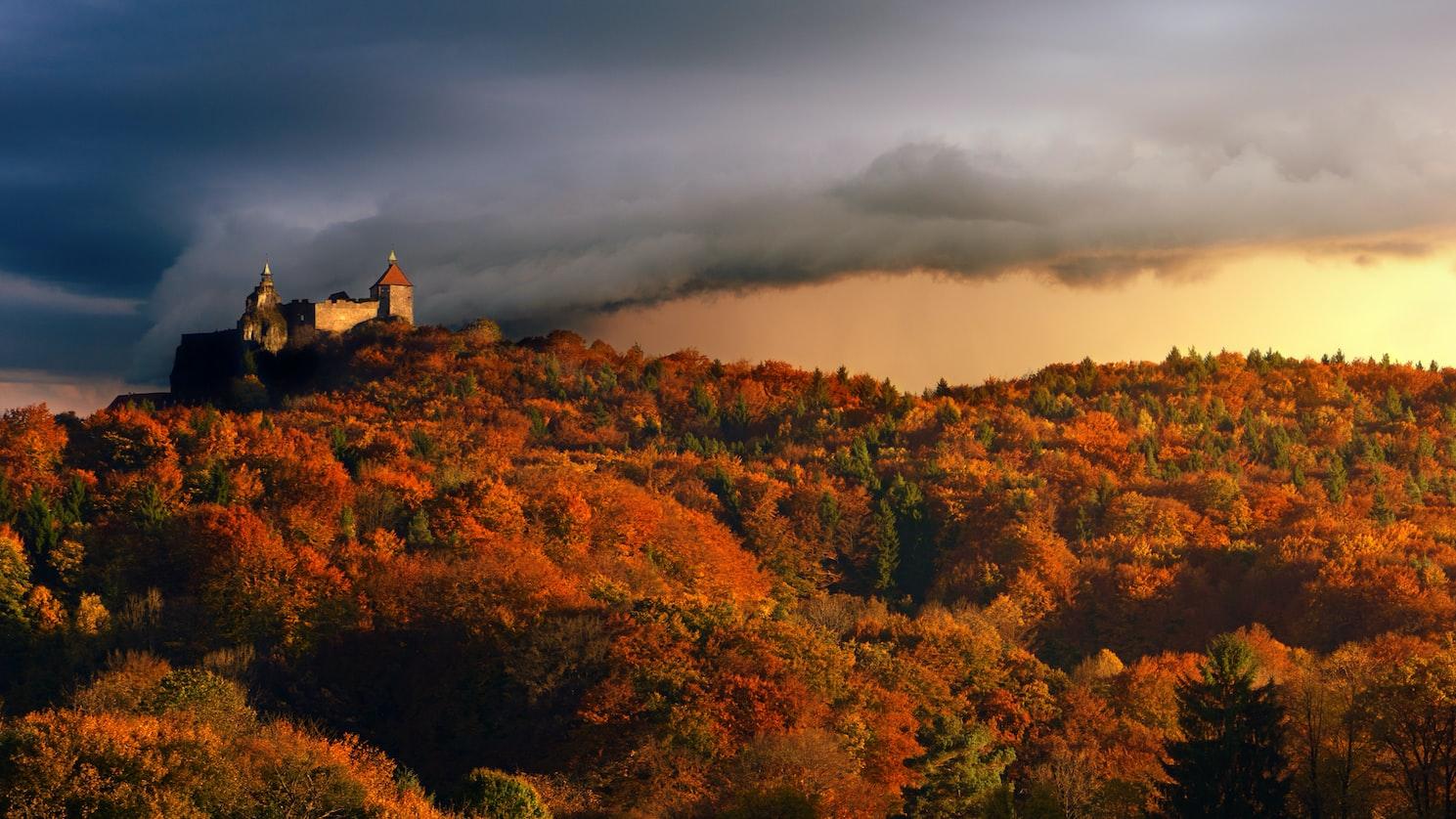 Burg Kreuzenstein in Austria
