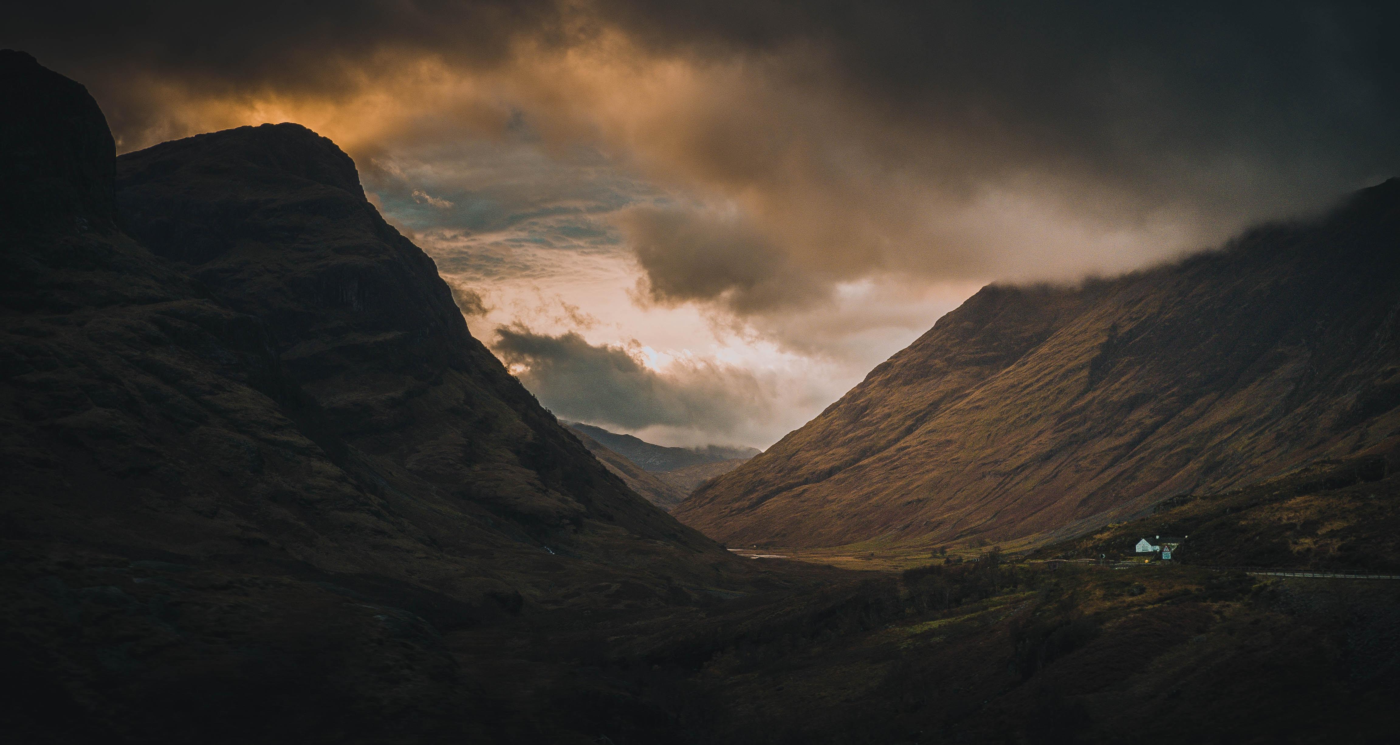 landscape shot of mountain