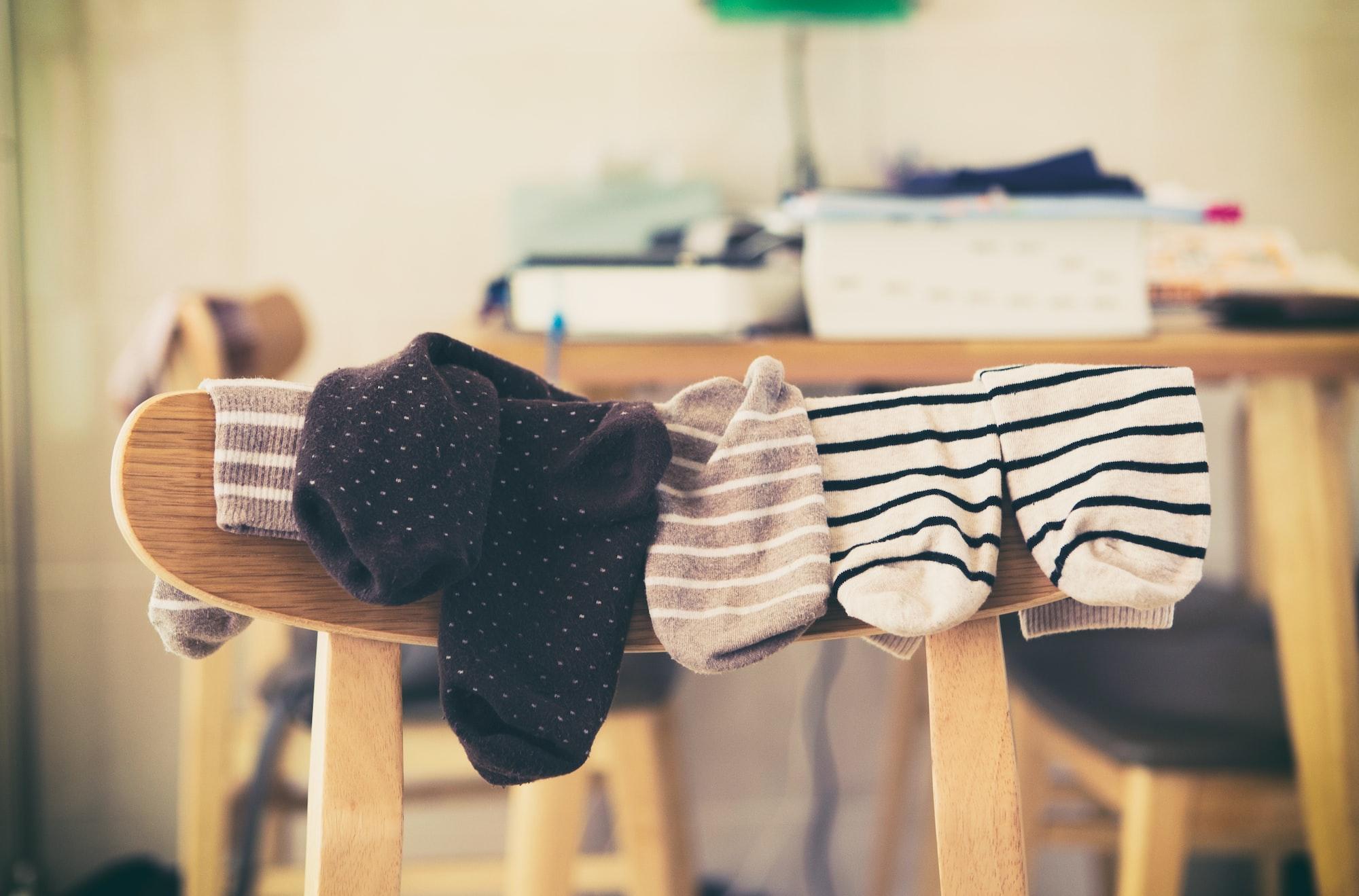 Sobre cómo unos calcetines influyen en un divorcio