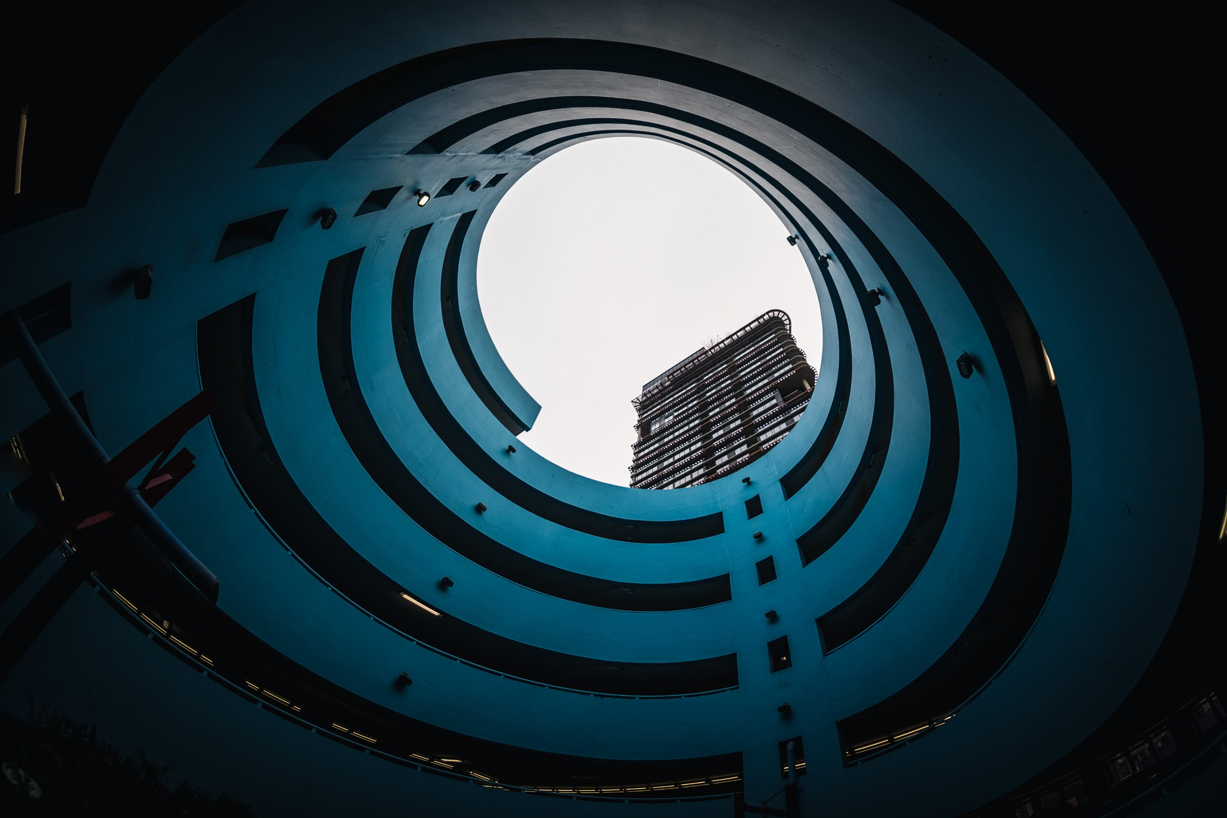 low-angle photography of skyscaper building