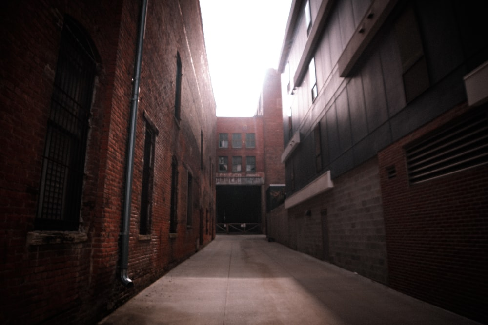 photo of alley at daytime