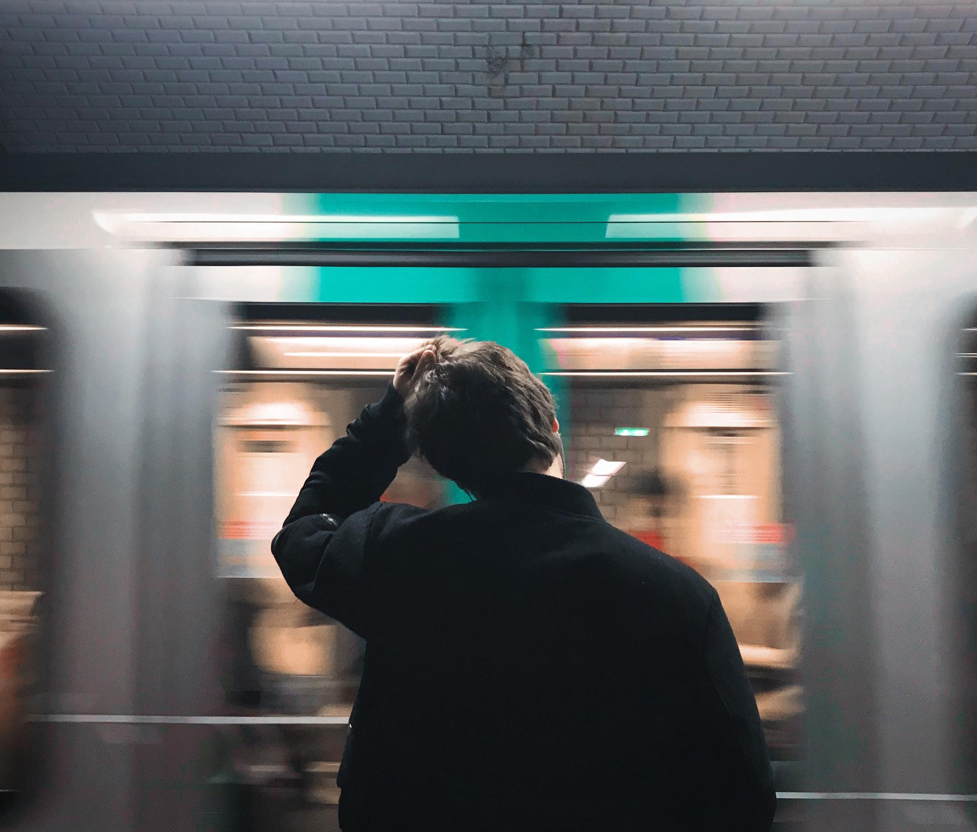 Morning in Paris Metro