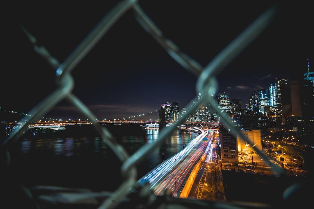 Manhattan Bridge X Long Exposure