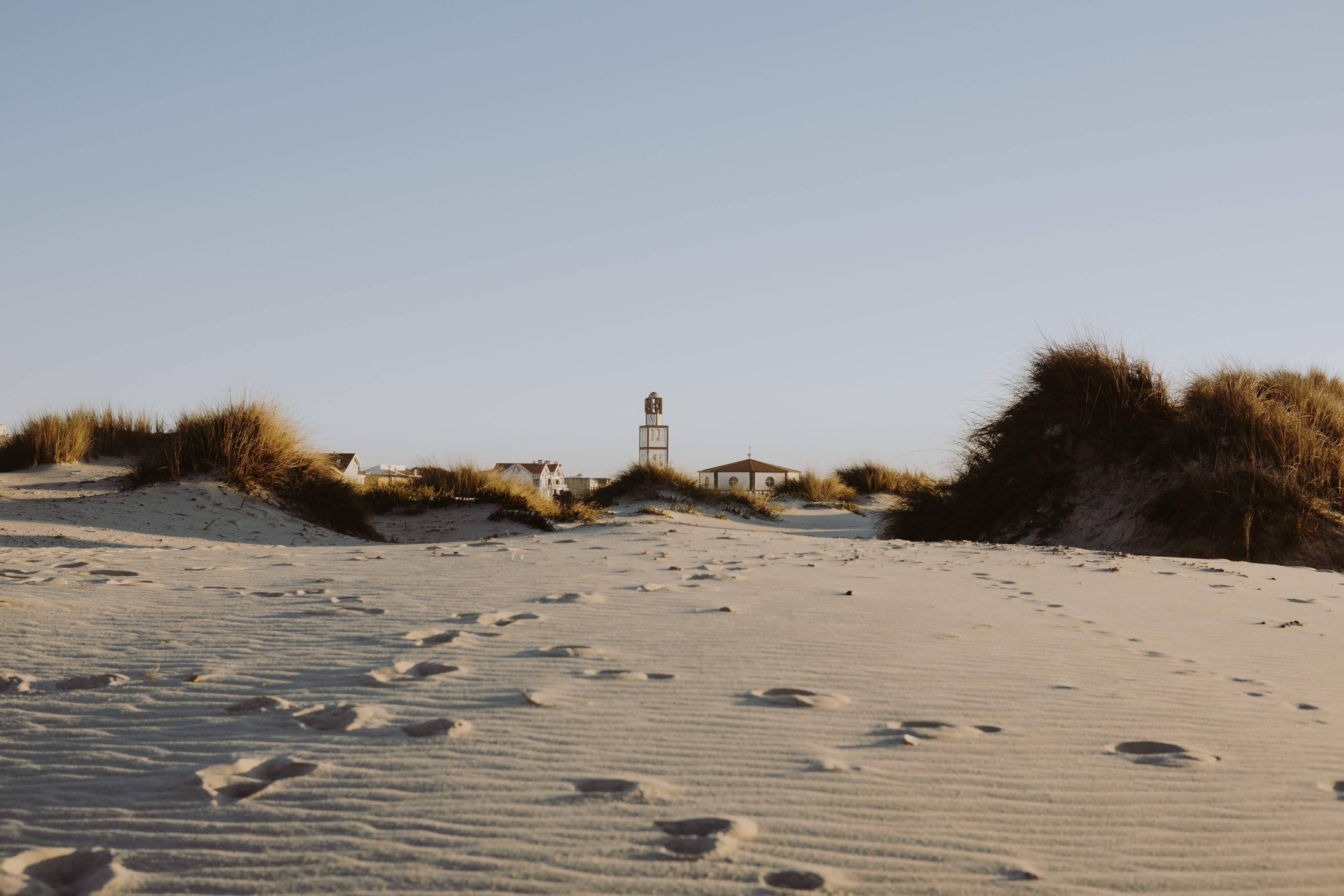brown sand and grass