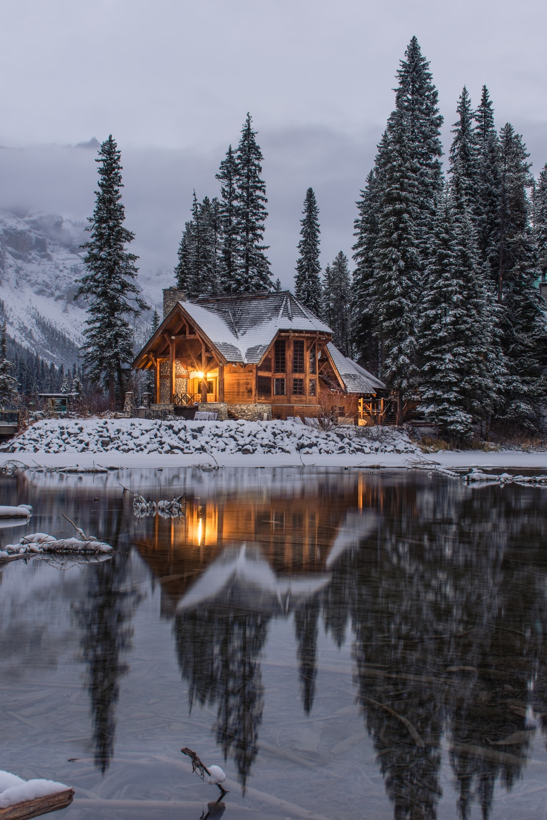 Cabin Wooden House And Building Hd Photo By Ian Keefe