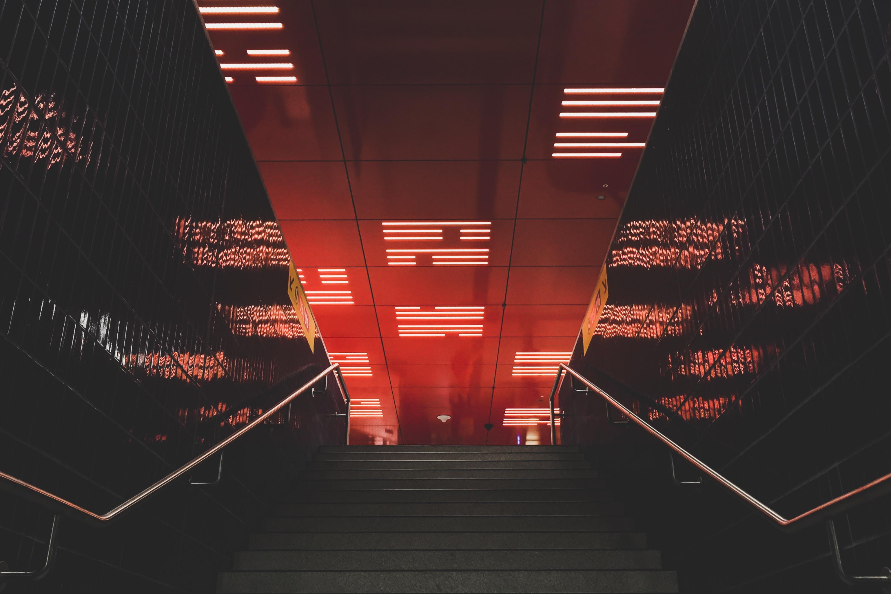 grey stair