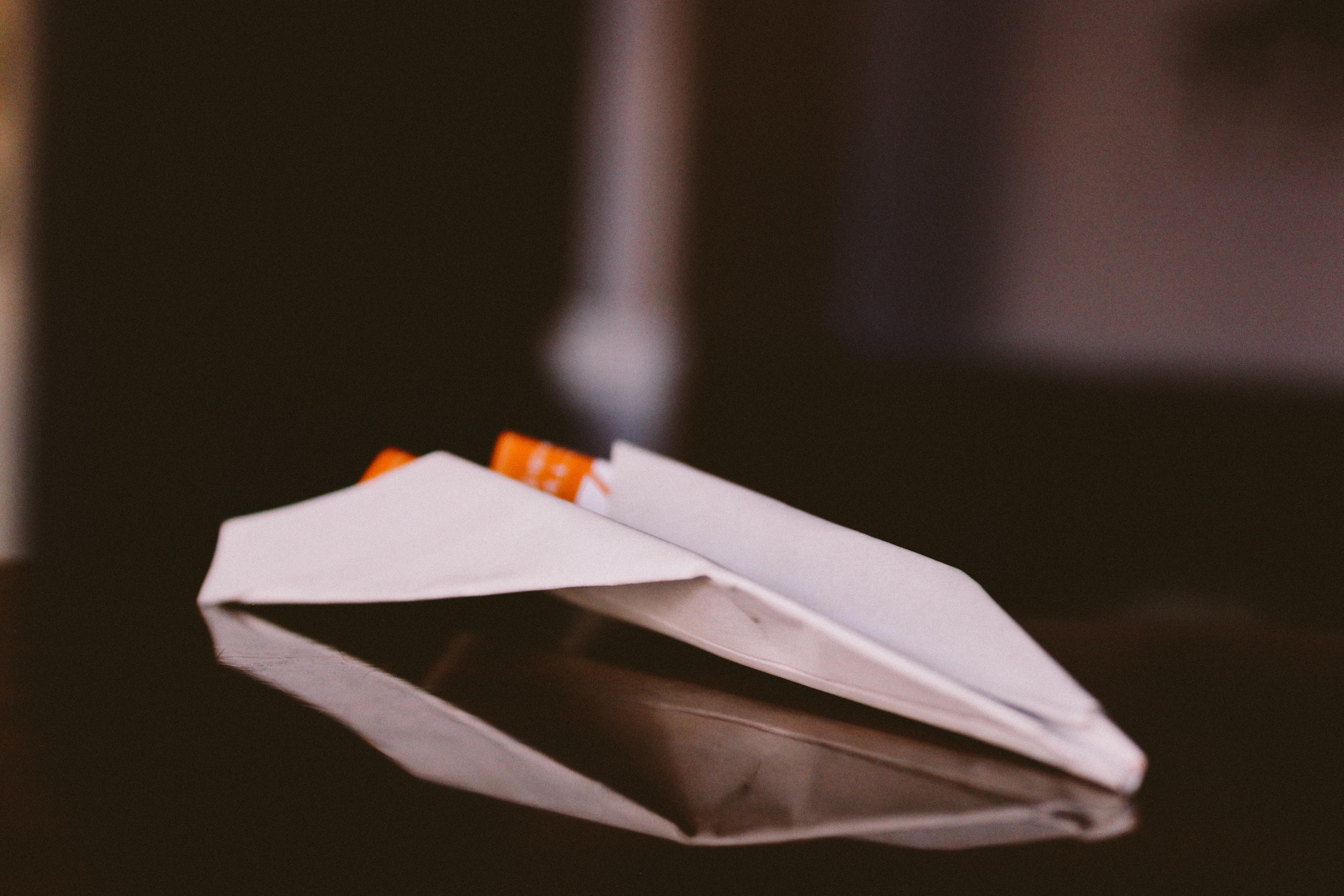 Paper Plane burned stories