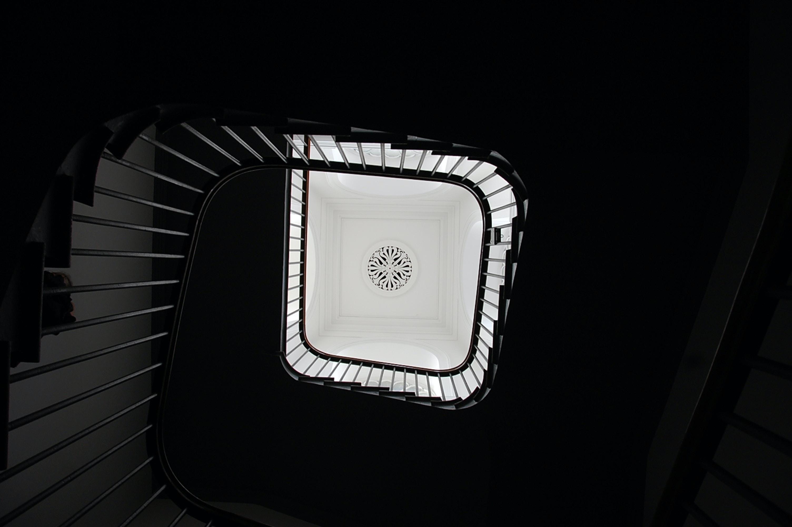 gray spiral case