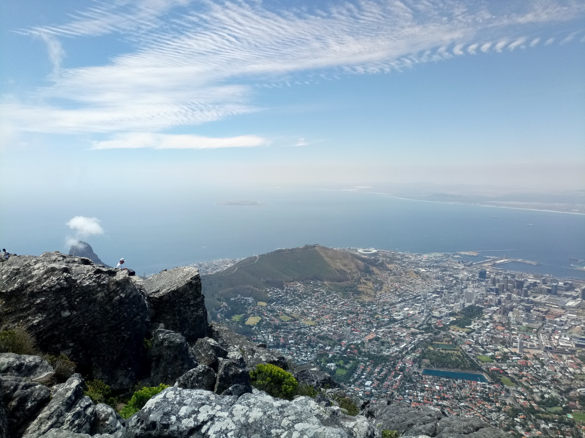 Sunday afternoon hike up table mountain