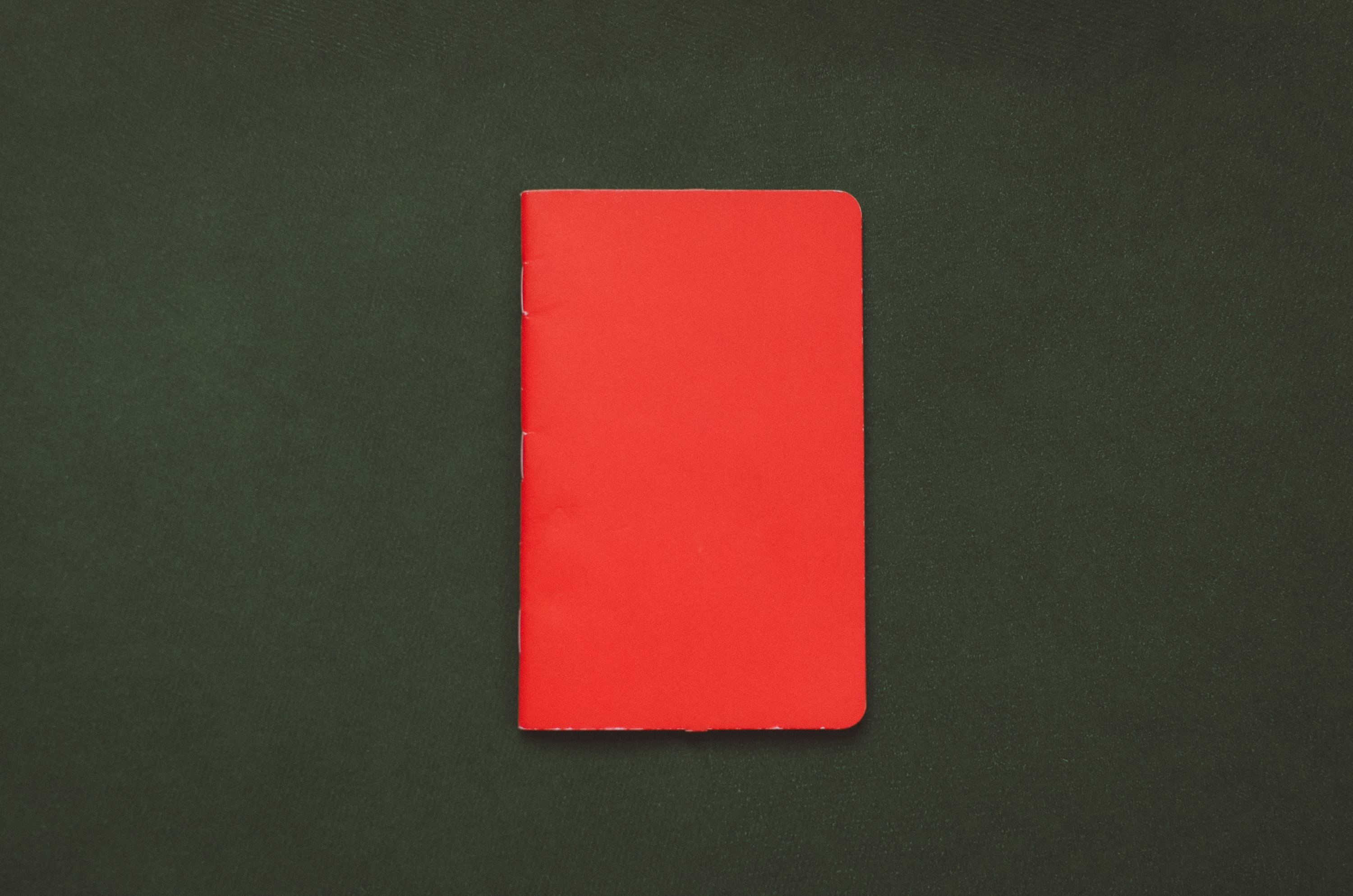 closed red book
