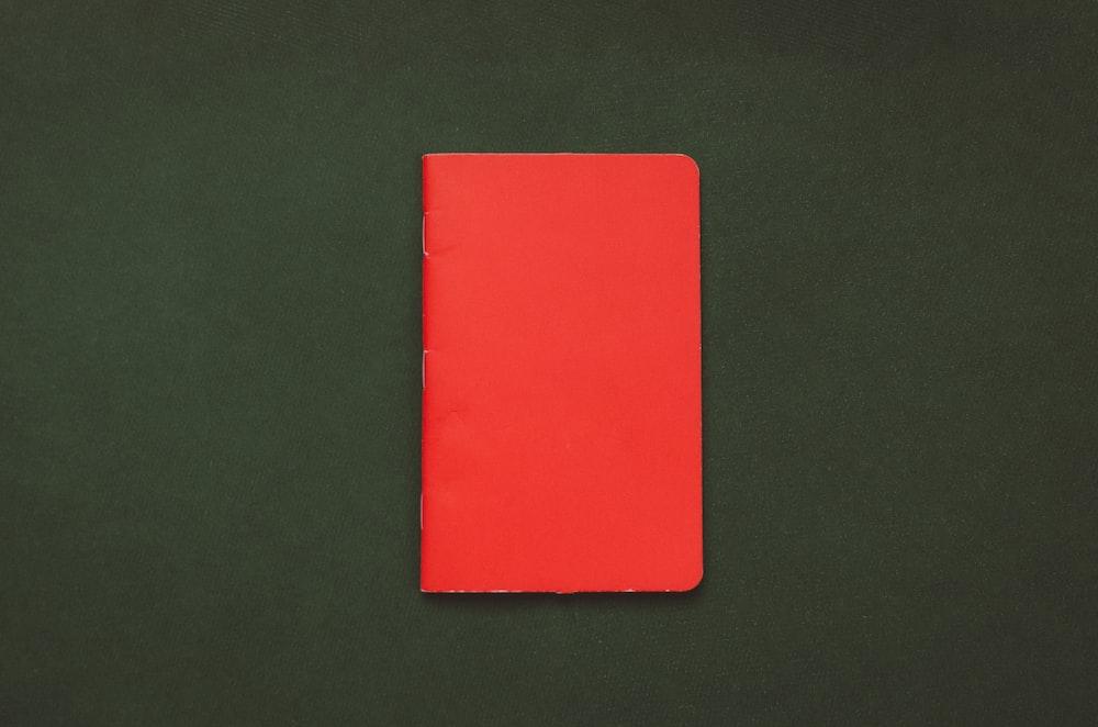 closed red book