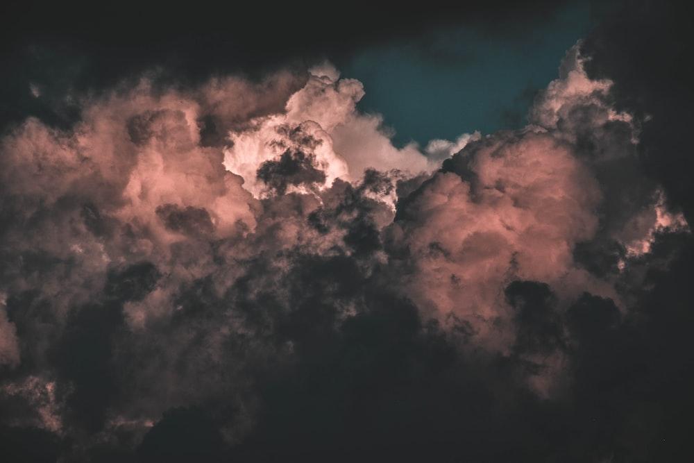 photo of gloomy sky