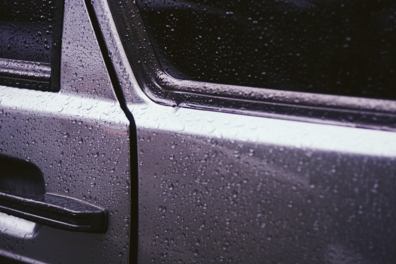 closed vehicle door