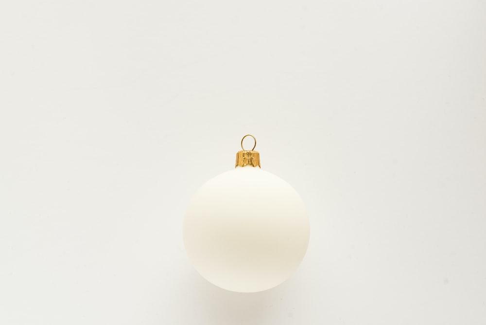 white bauble