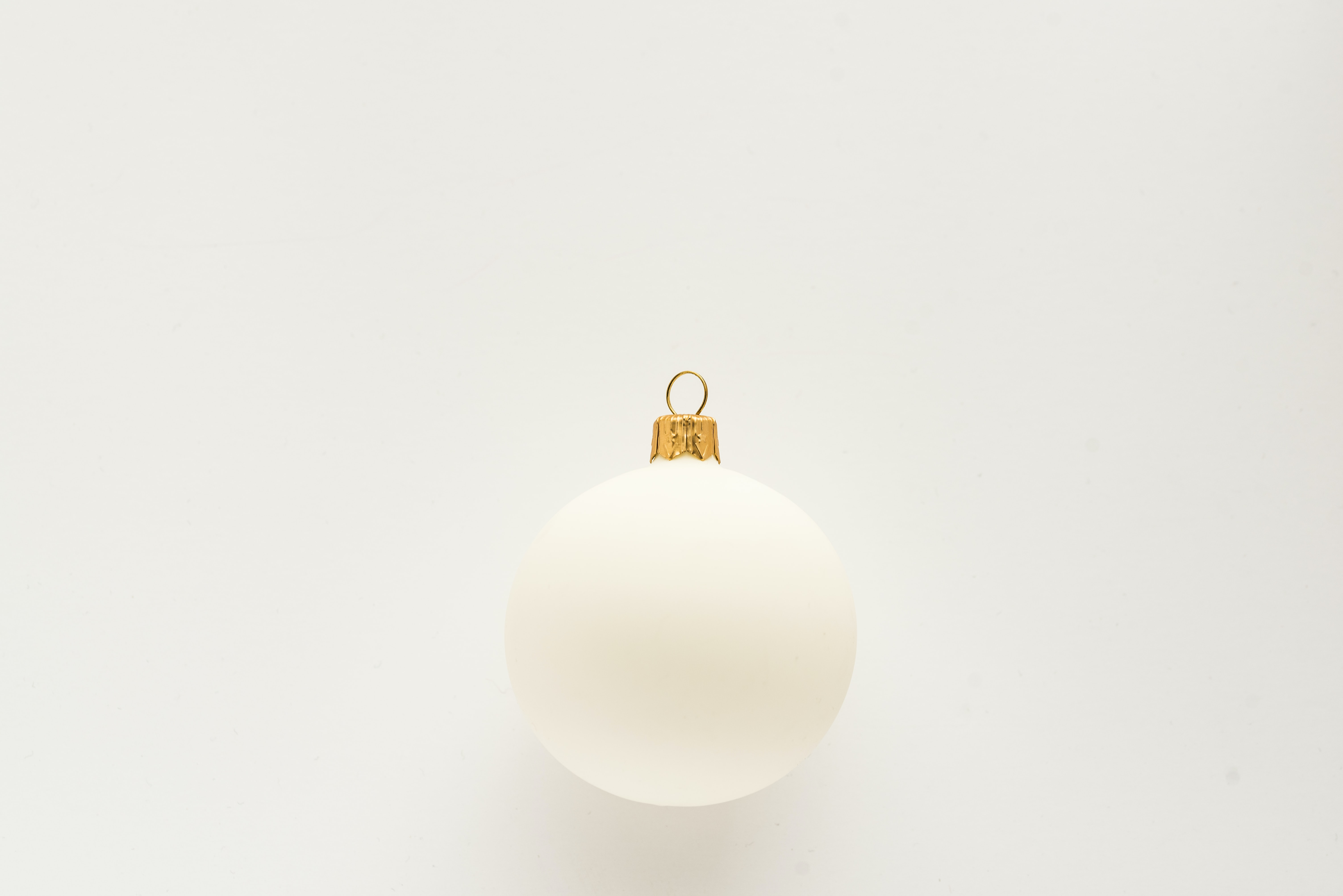 white bauble