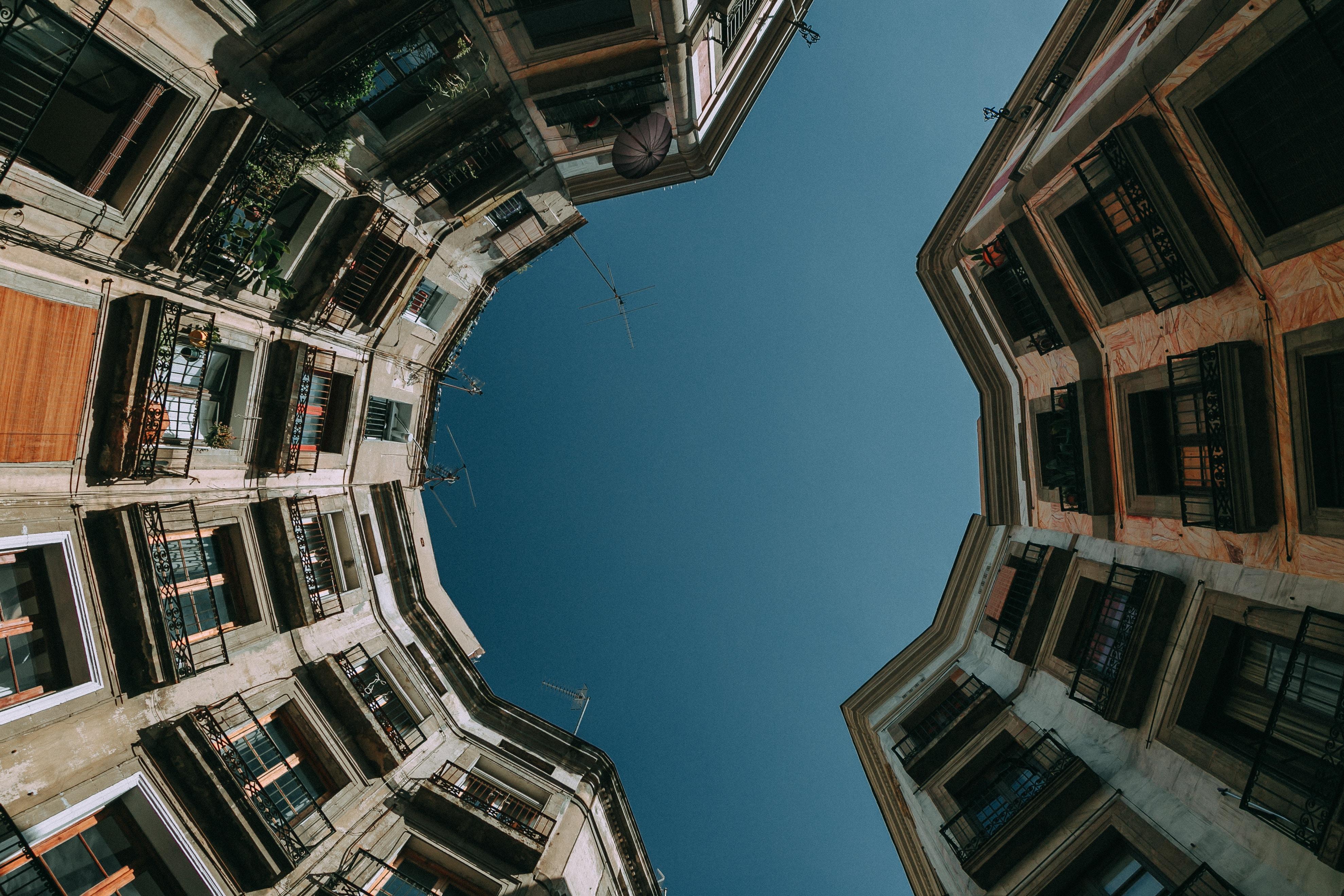 condominiums during daytime