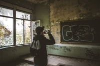 Exploring abandoned building