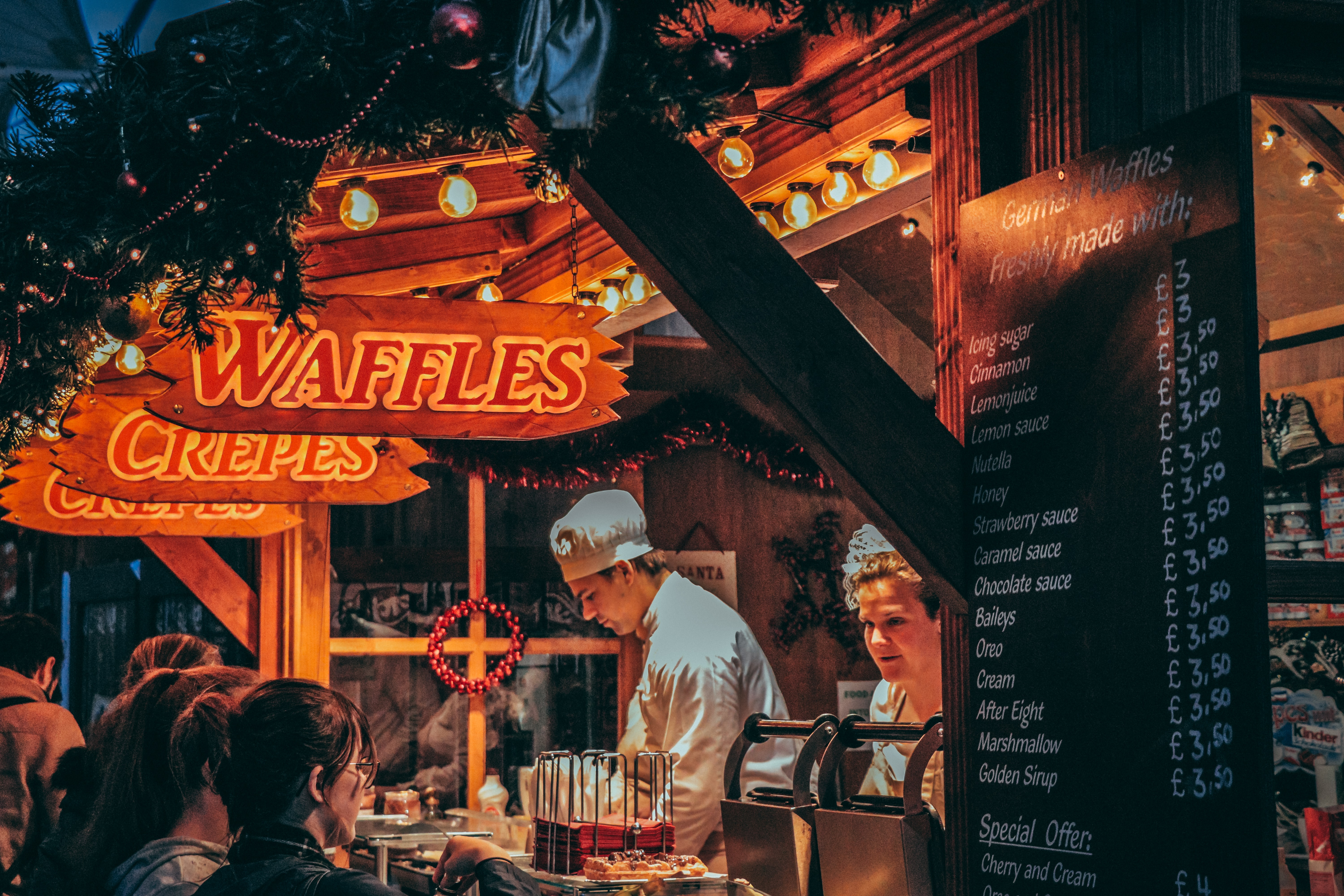 Waffles store