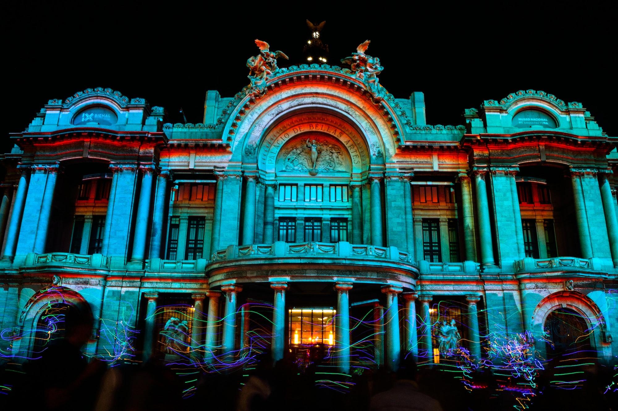 Palacio de Bellas Artes Mapping