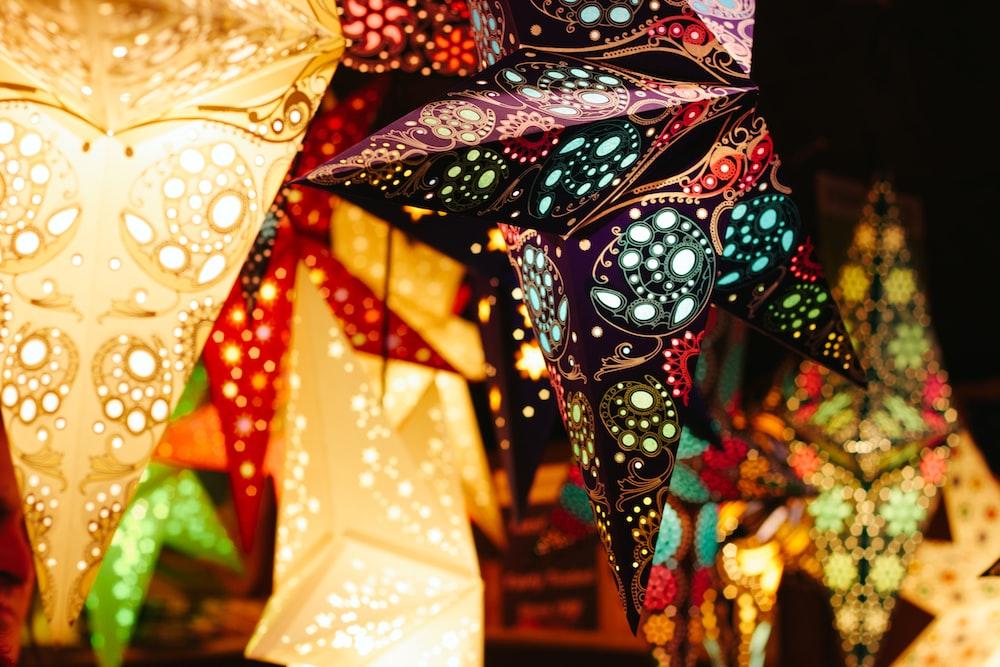 turn on lanterns