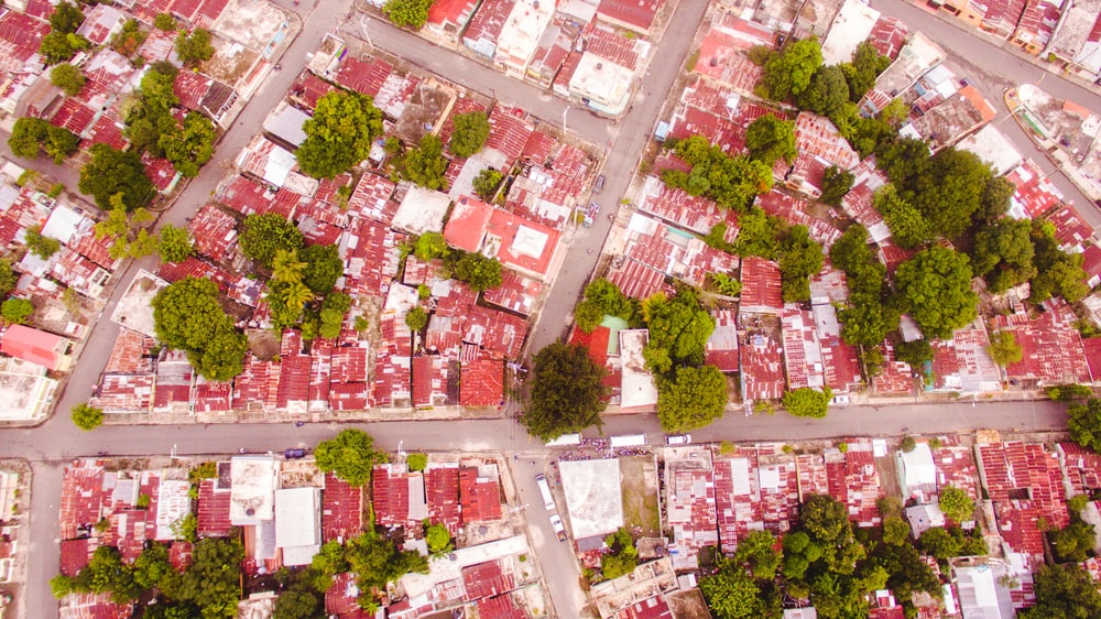 aerial view photography of cirt