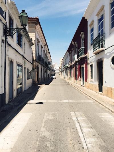 city pathway