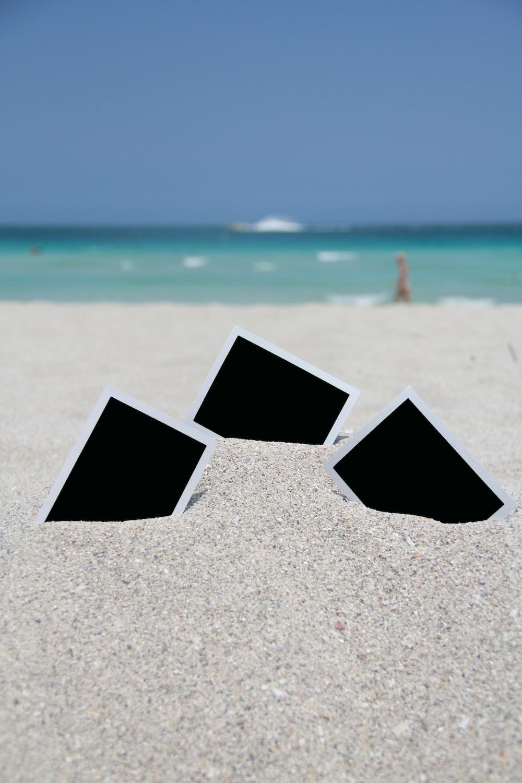 Polaroids on the beach photo by Lina Castaneda (@linacastaneda) on ...
