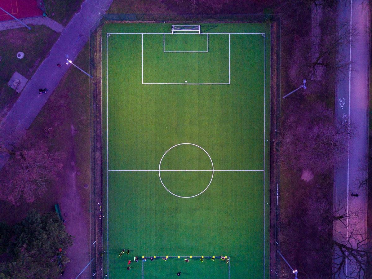 Estádio de Futebol na Varsóvia